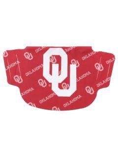 University of Oklahoma Stripe Face Mask