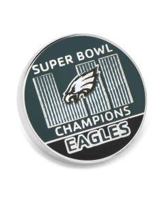 2018 Philadelphia Eagles Super Bowl Champions Lapel Pin