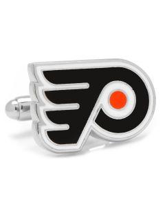 Silver Philadelphia Flyers Cufflinks