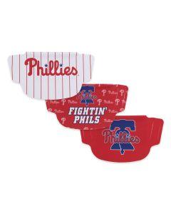 Philadelphia Phillies 3 Pack Face Mask