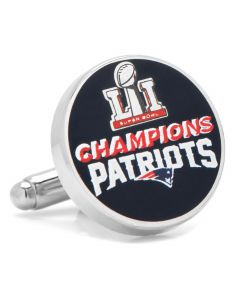 2017 New England Patriots Super Bowl Champions Cufflinks