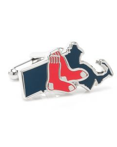 Boston Red Sox State Shaped Cufflinks