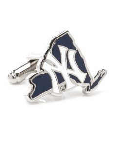 New York Yankees State Shaped Cufflinks