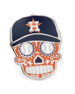 Houston Astros Sugar Skull Lapel Pin