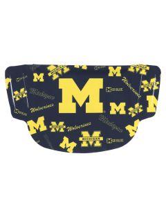 University of Michigan Dot Face Mask