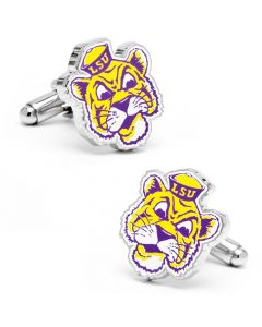 Vintage LSU Tigers Cufflinks