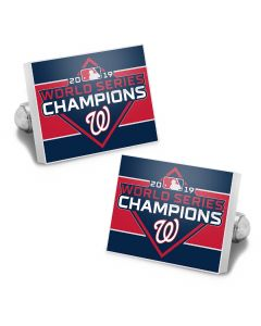 2019 Washington Nationals Championship Cufflinks