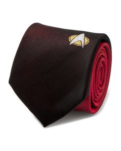 TNG Shield Red Ombre Men's Tie