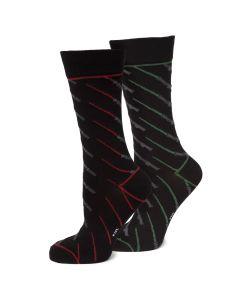 Lightsaber Battle Socks