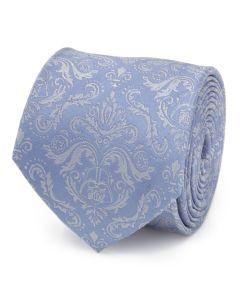 Damask Darth Vader Blue Men's Tie