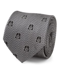 Darth Vader Herringbone Black Men's Tie