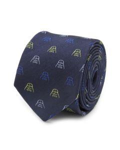 Darth Vader Mask Silk Boy's Tie
