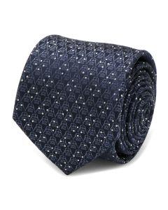 Darth Vader Navy Diamond Dot Mens Tie