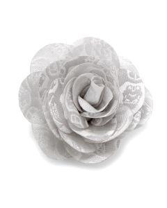 White Stormtrooper Vader Blossom Lapel Flower