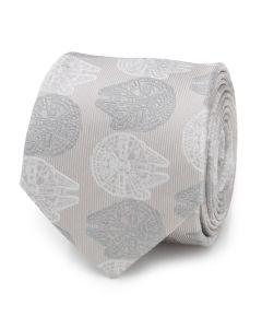 Falcon Gray Men's Tie