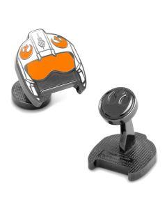 Fighter Pilot Helmet Cufflinks