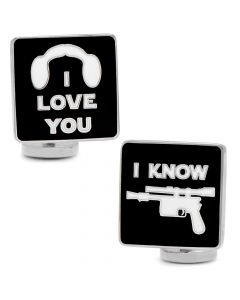 I Love You I Know Icon Cufflinks