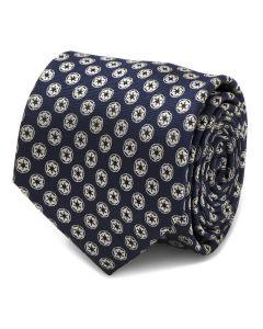 Imperial Symbol Navy Mens Tie