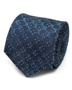 Millennium Falcon Dot Blue Men's Tie