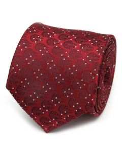 Millennium Falcon Dot Red Men's Tie