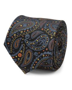 Mandalorian Black Paisley Men's Tie