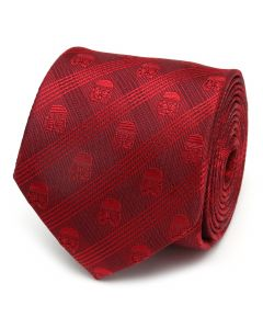 Stormtrooper Red Plaid Men's Tie