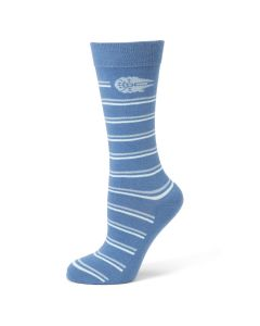 Striped Falcon Blue Men's Sock
