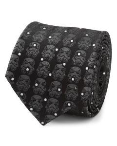 Stormtrooper Black Dot Men's Tie