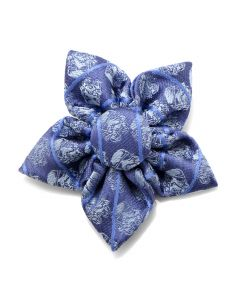 Light Blue Stormtrooper Striped Star Lapel Flower