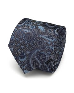 Vader Paisley Blue and Gray Men's Tie