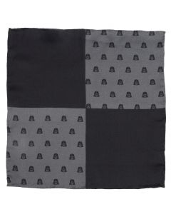 Darth Vader Black Pocket Square