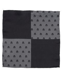 Darth Vader Black Pocket Square