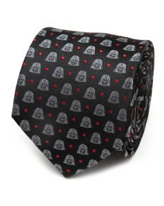 Darth Vader Black Dot Men's Tie