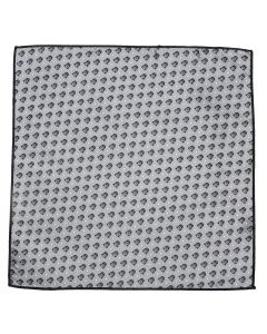 Darth Vader Gray Dot Pocket Square