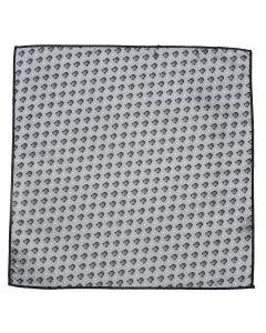 Darth Vader Gray Dot Pocket Square