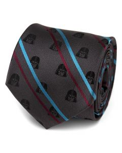 Darth Vader Black Striped Men's Tie