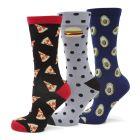 Foodie 3 Pack Socks Gift Set