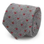 Herringbone Heart Men's Tie