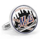 New York Mets Baseball Cufflinks