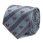 Superman Gray Plaid Tie