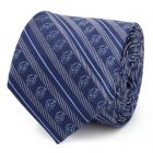 Donald Duck Striped Blue Men's Tie