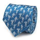 Genie Scattered Blue Men's Tie