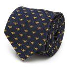 Lamp Scattered Navy Men's Tie