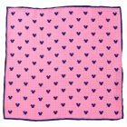 Mickey Mouse Dot Pink Pocket Square