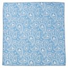 Mickey Mouse Paisley Teal Pocket Square