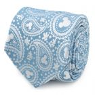 Mickey Mouse Teal Paisley Men's Tie