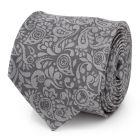 Avengers Paisley Icons Gray Men's Tie
