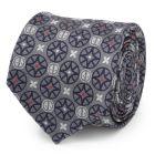 Deadpool Gray Men's Tie