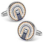 Vintage University of Illinois Fighting Illini Cufflinks