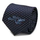 Enterprise Dot Blue Men's Tie